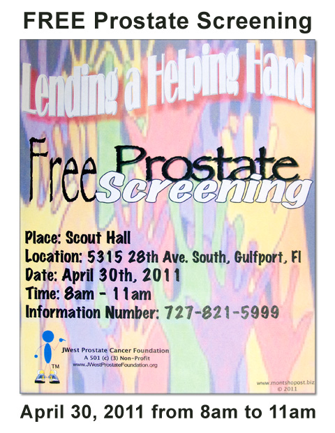 Lend a Helping Hand - FREE prostate Screening