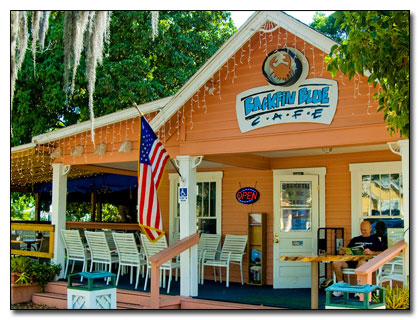 Backfin Blue Cafe in Gulfport, Florida