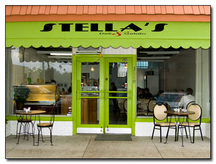 Stella's Deli and Gelato in Gulfport, Florida