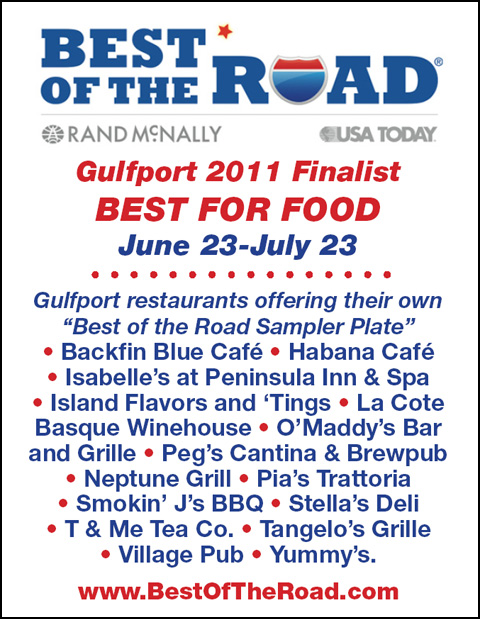 Gulfport Restaurants Offer Signature Tastes for National Competition