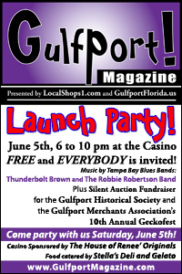 Gulfport! Magazine Launch Party
