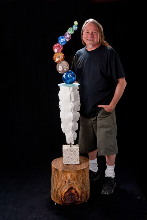 Owen Pach, Internationally Acclaimed Glass Blower